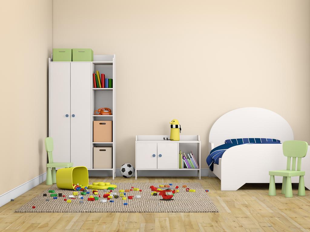 Vkusný a elegantní dětský pokoj