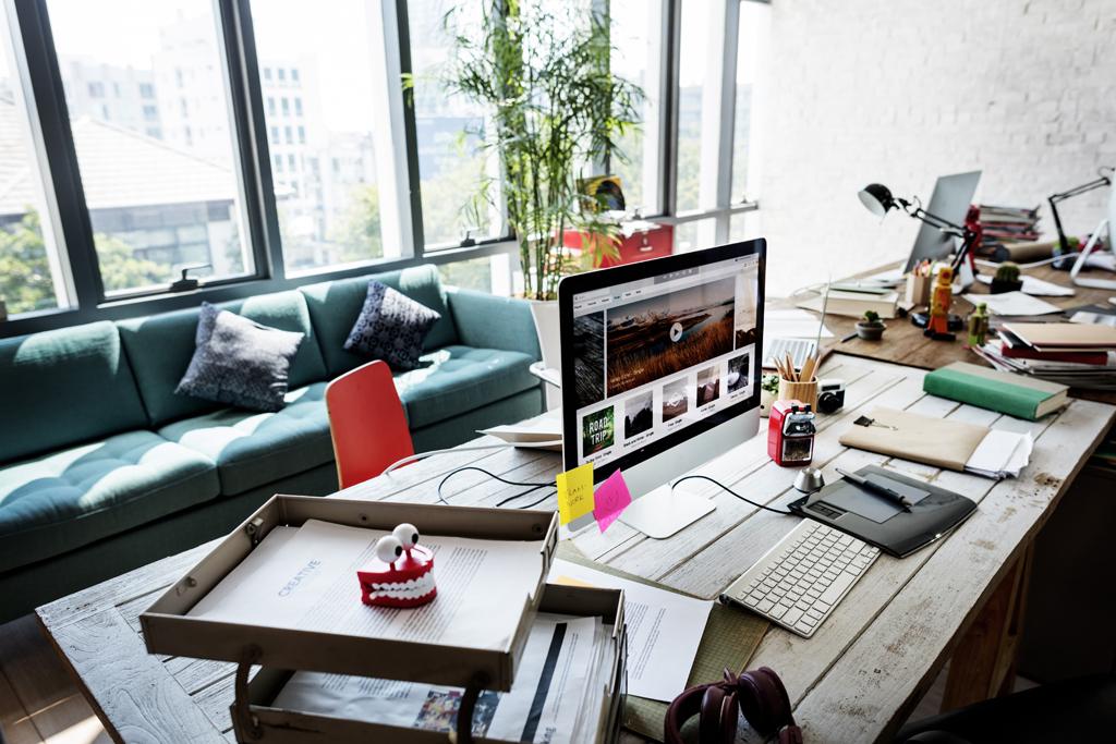 Moderní start-up pracovna