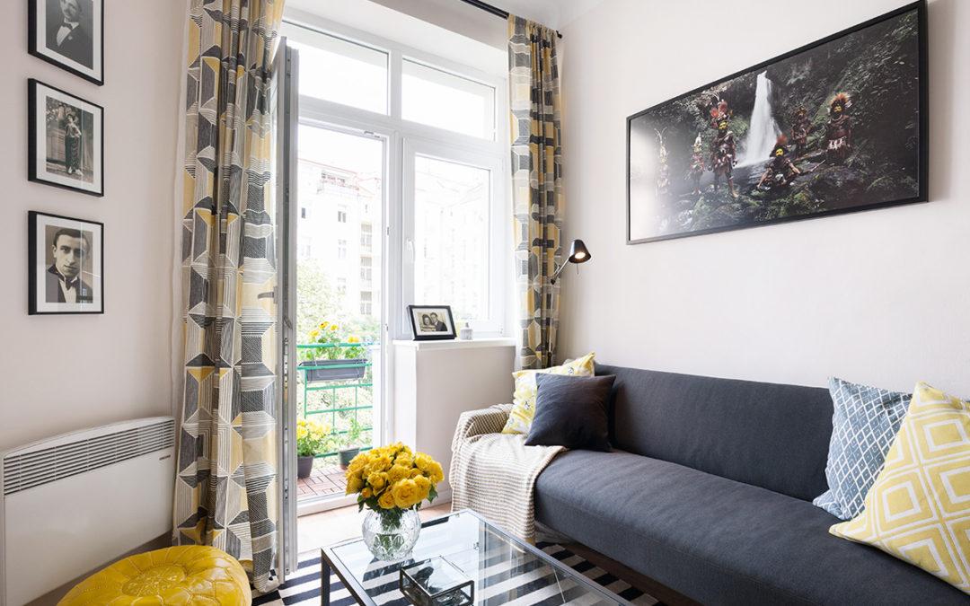 Levně, ale ne lacině: Ital zrenovoval byt ve Vršovicích