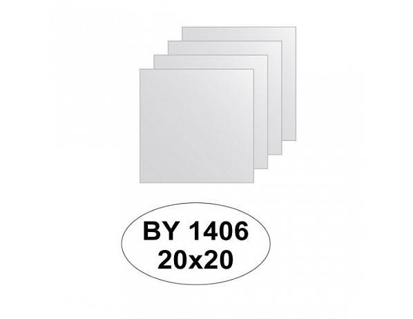 Zrcadlový obklad 20×20 – 4ks