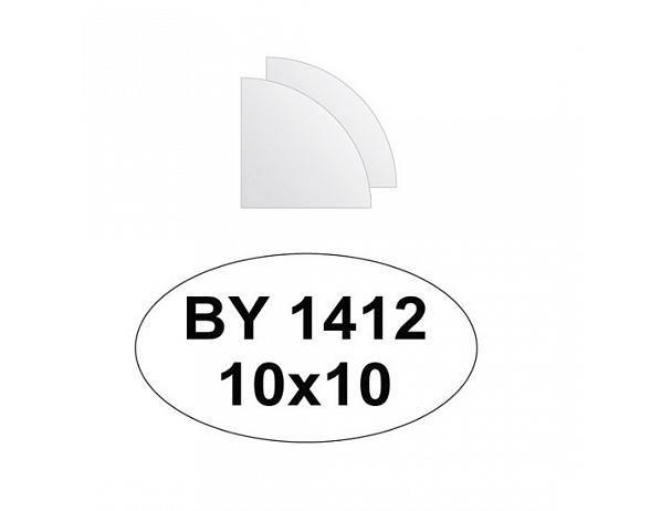 Zrcadlový obklad 10×10 – 2ks