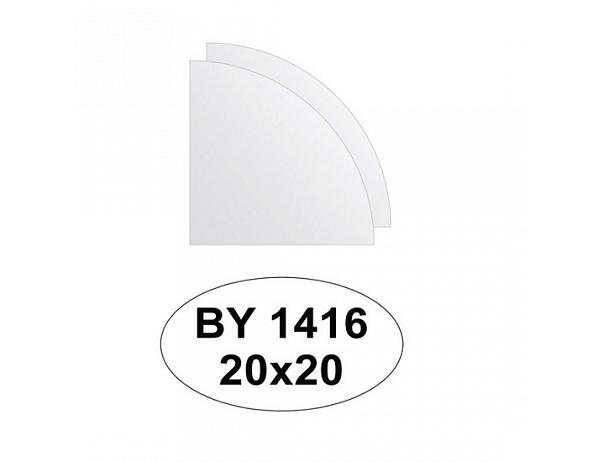 Zrcadlový obklad 20×20 – 2ks