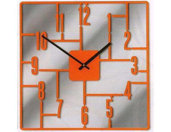 Designové hodiny D&D 270 Meridiana, oranžový lak