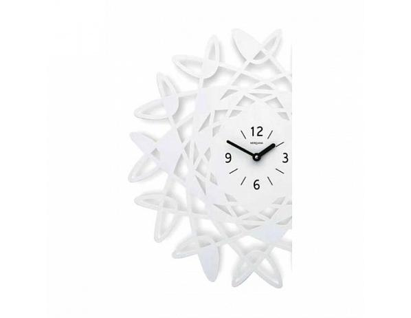 Designové hodiny D&D 303 Meridiana, bílý lak