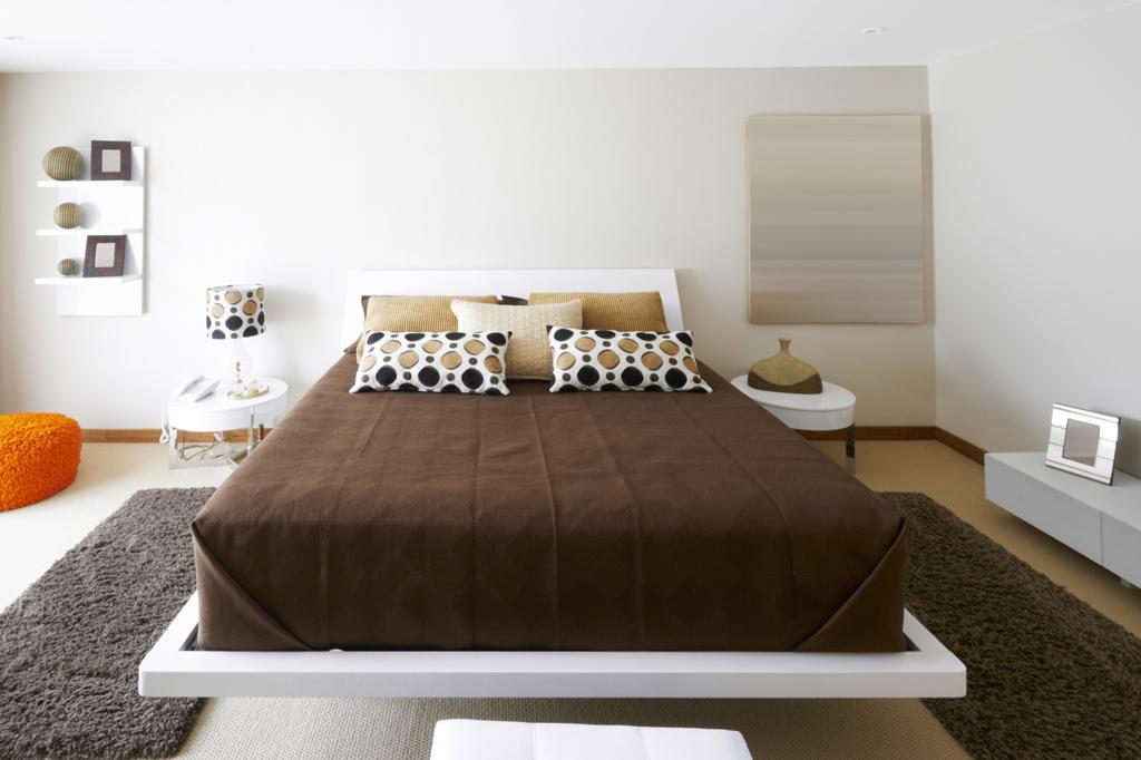 Čokoládová ložnice