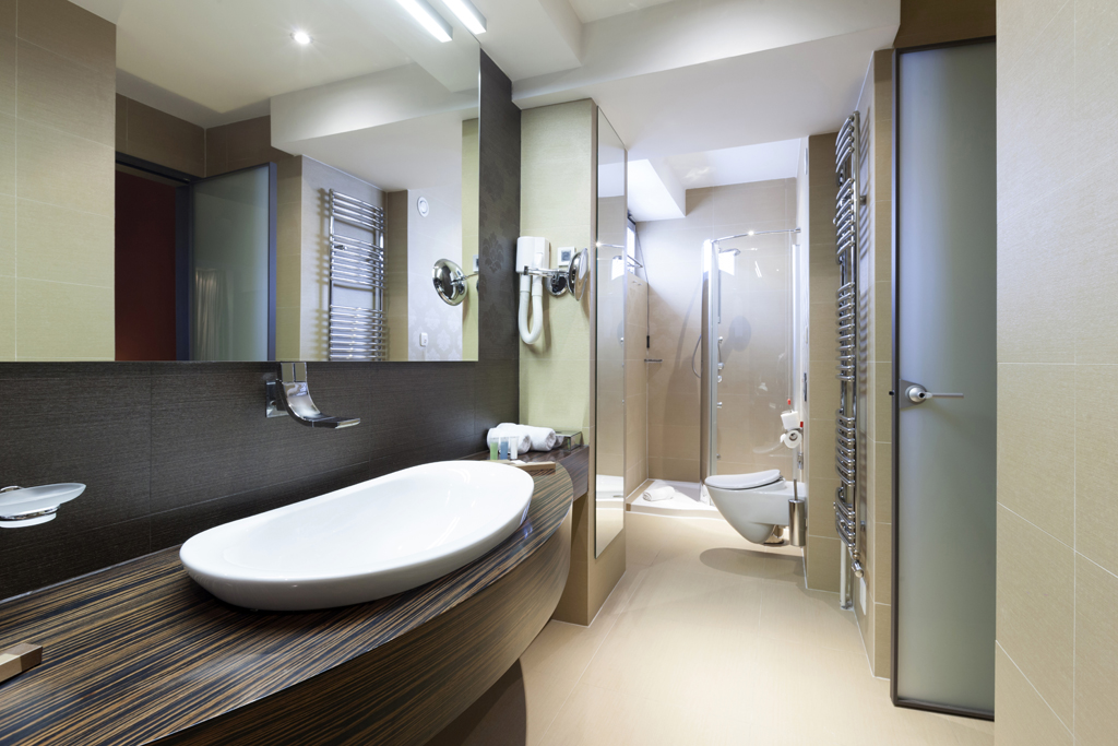 Koupelna v úzkém prostoru