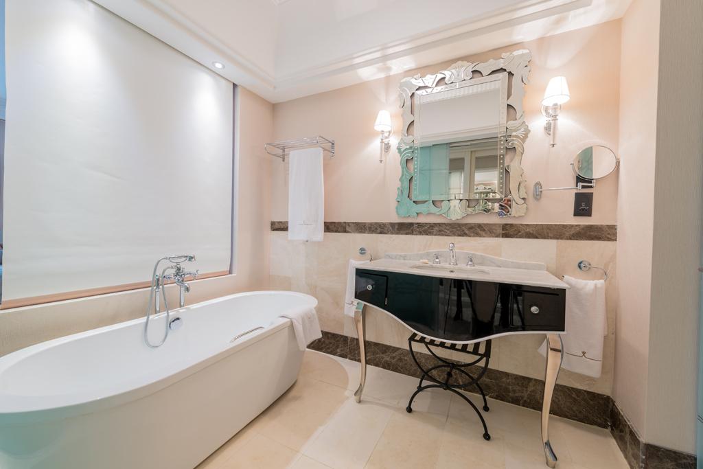 Vyzdobená koupelna