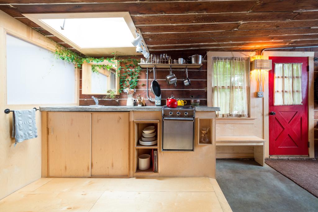 Prostá kuchyň s velkým kouzlem