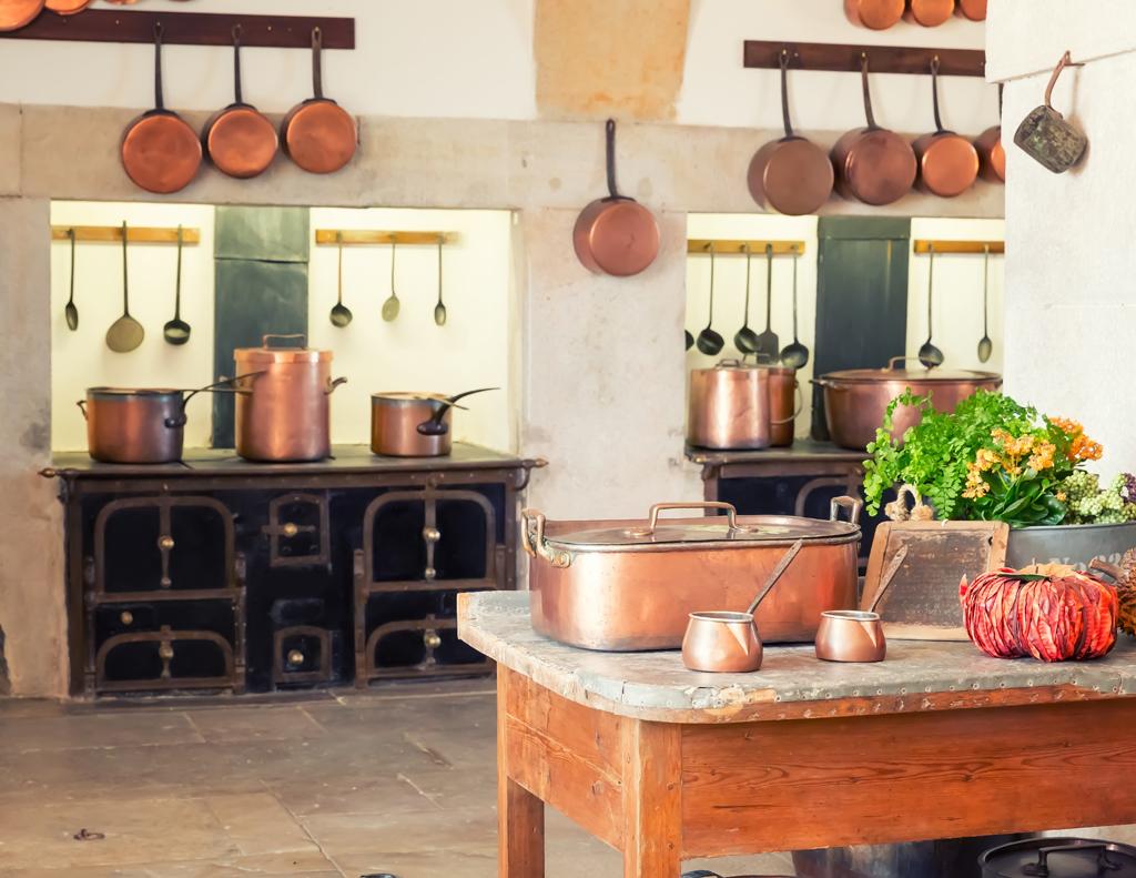 V kuchyni u prababičky