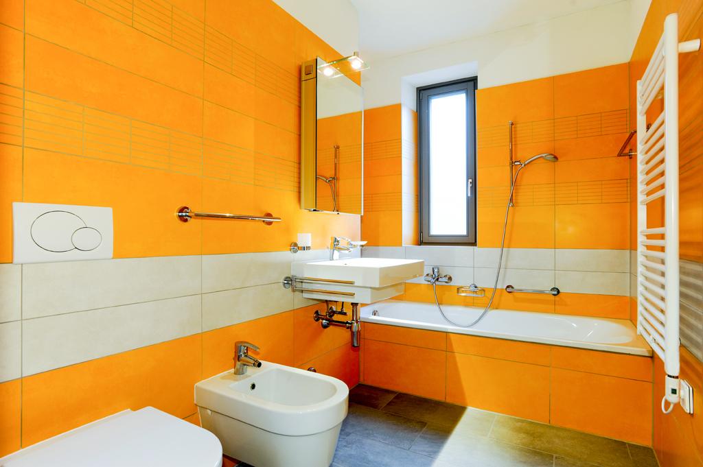 Koupelna s obdélníky