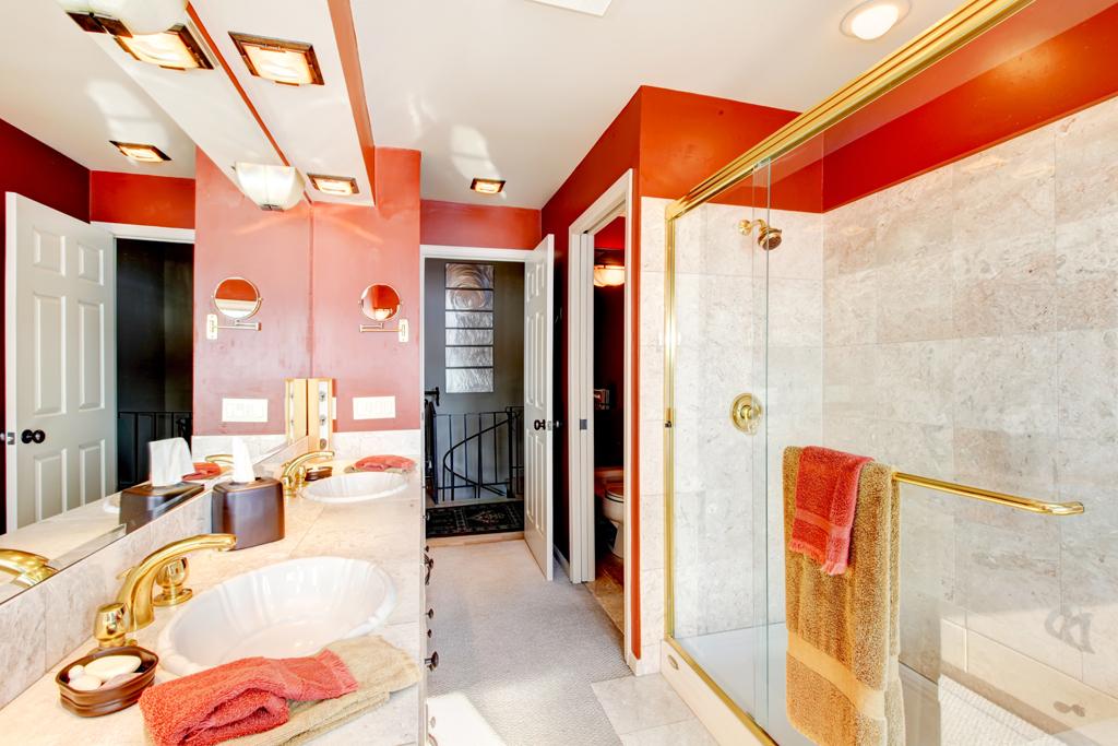 Luxus v červeném
