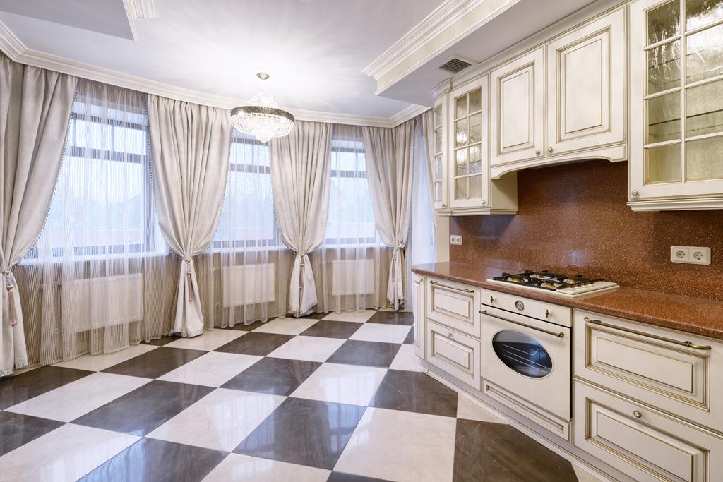 Luxusní rustikální kuchyň