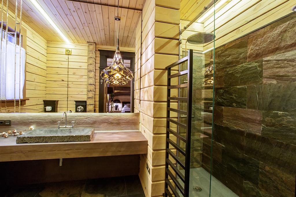 Koupelna s neobvyklým topením
