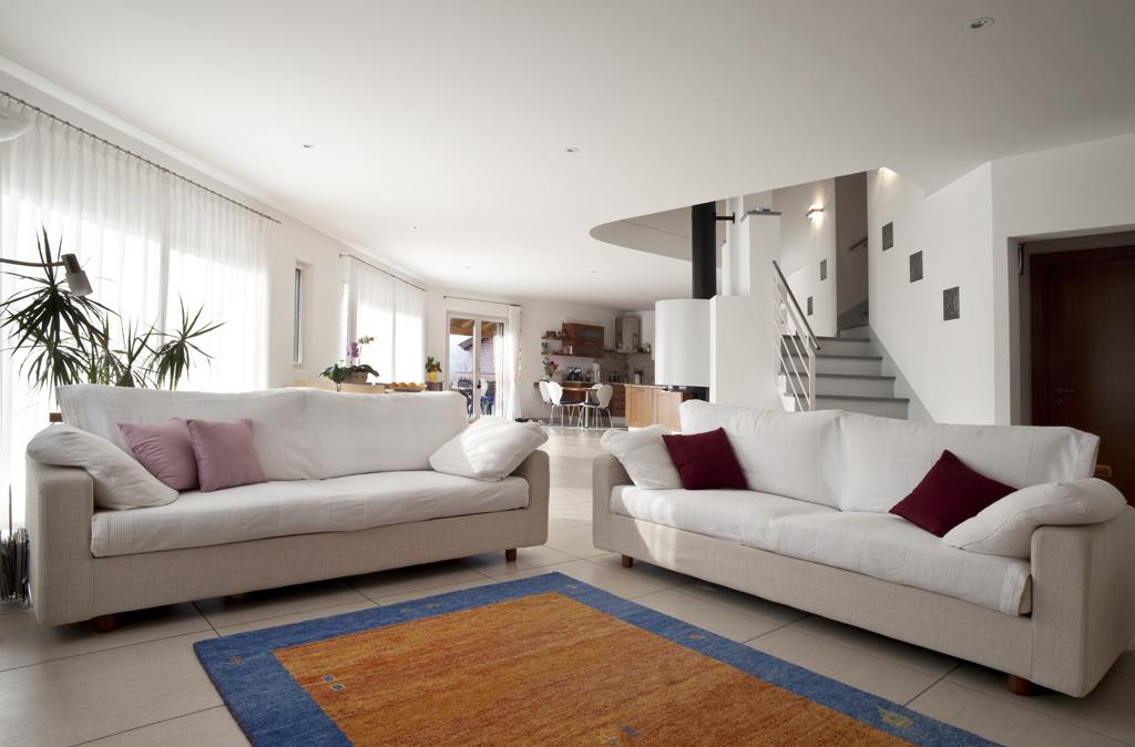 Obývák v otevřeném prostoru