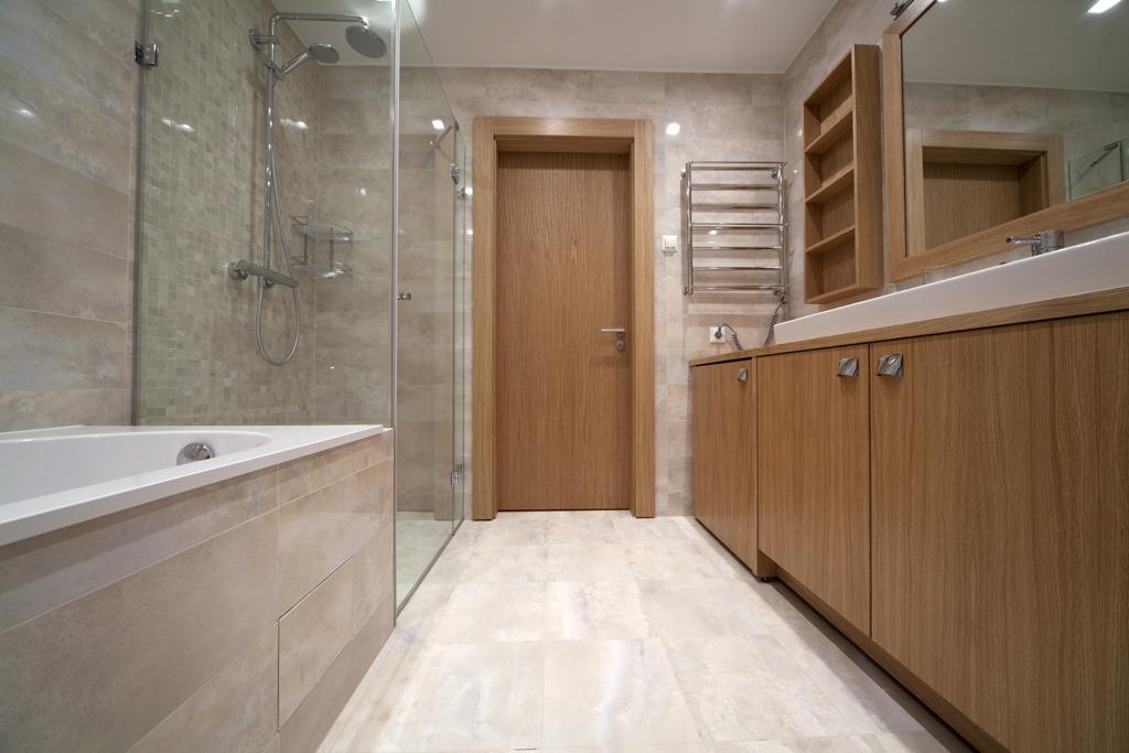 Optické zvětšení koupelny