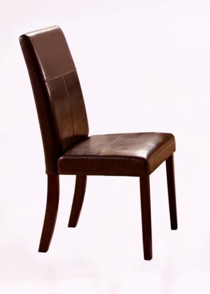 Halmar Jídelní židle KERRY BIS, wenge/tmavě hnědá