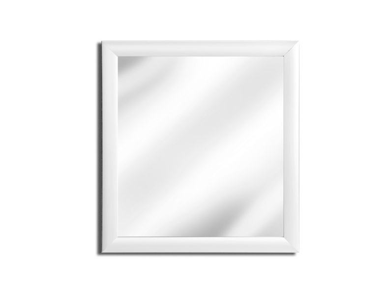 MATIS Obdelníkové zrcadlo MONIKA, bílá