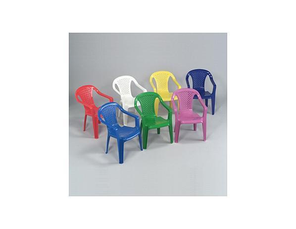Dětská plastová židlička Bambini