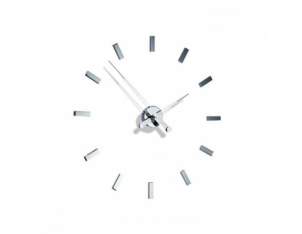 Designové nástěnné hodiny Nomon TACON 12i 73cm – Černé