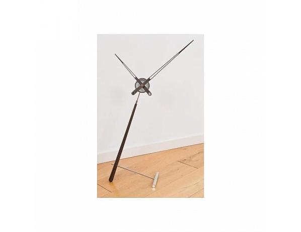 Designové stolní hodiny Nomon Puntero Walnut N 94cm
