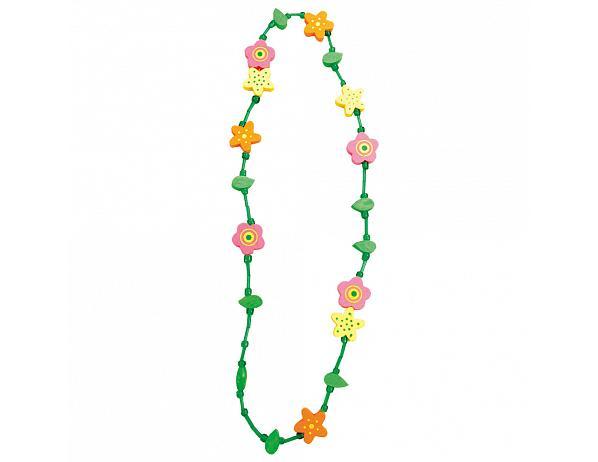 Dětský náhrdelník, květina