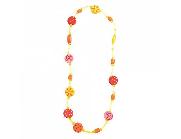 Dětský dřevěný náhrdelník, ovoce