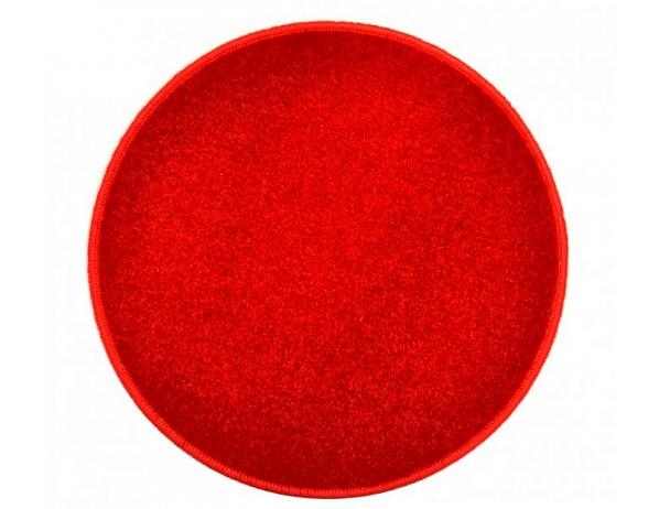 Eton červený koberec kulatý, 67 cm