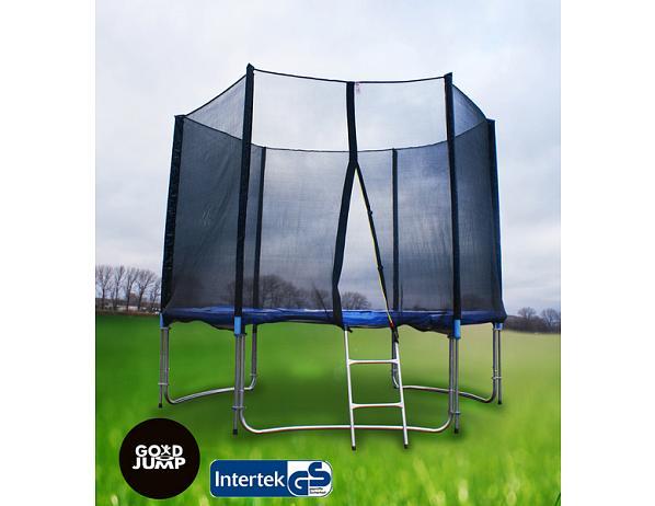 GoodJump trampolína 305 cm s ochrannou sítí + žebřík
