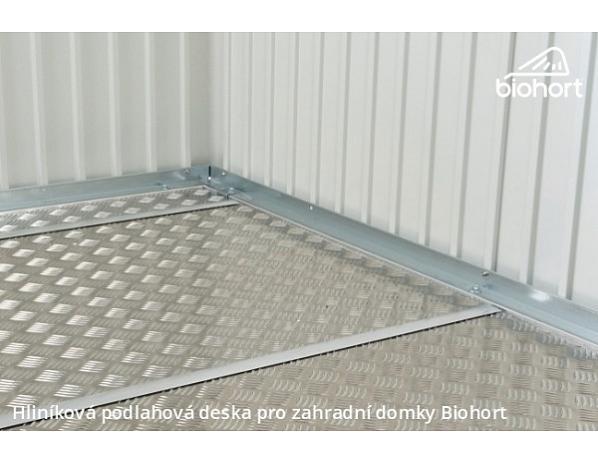 Hliníková podlahová deska pro zahradní domky Avantgarde