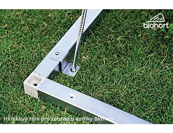 Hliníkový podlahový rám pro zahradní domky Avantgarde