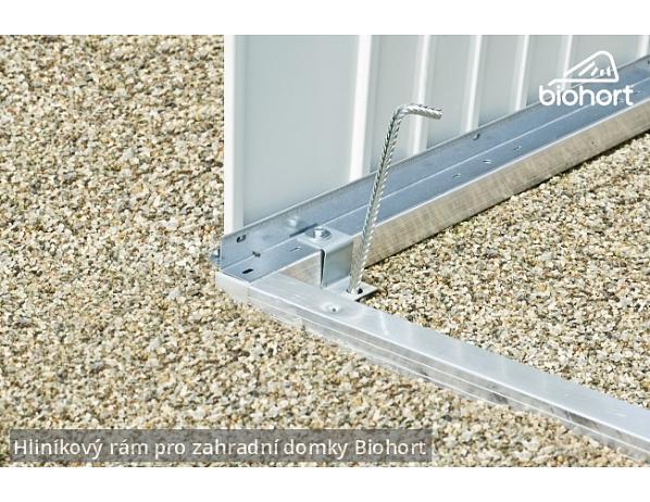 Hliníkový podlahový rám pro zahradní domky HighLine