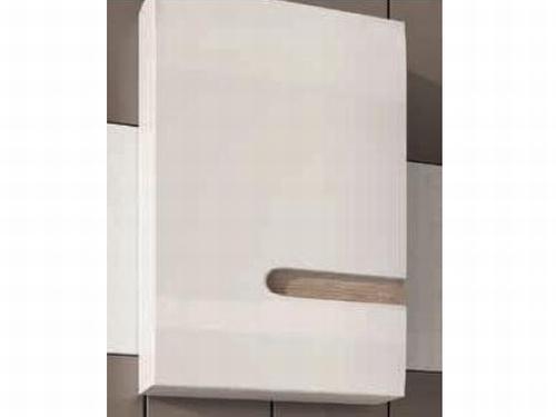 Extom LINATE/157L, horní skříňka, alpská bílá/trufla