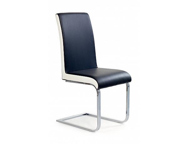 Jídelní židle K103 černo-bílá