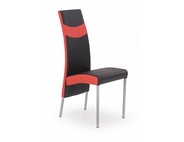 Jídelní židle K51 černo-červená