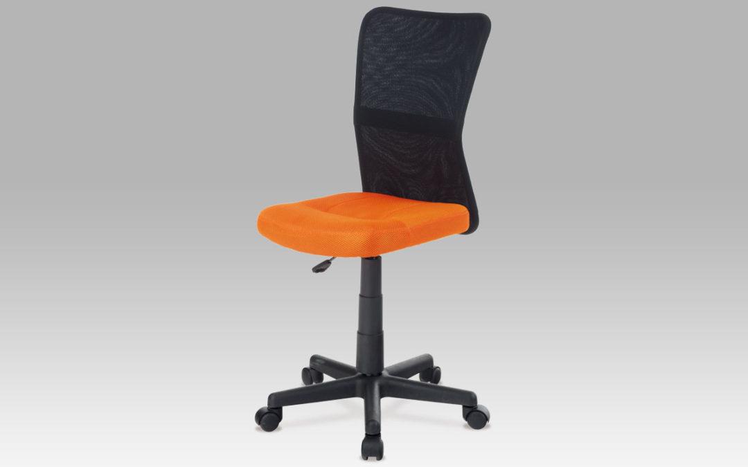 Autronic Dětská židle  KA-2325, oranžová / černá