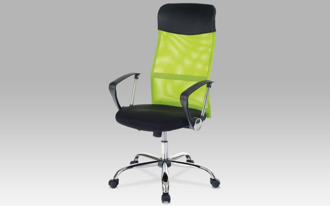 Autronic Kancelářská židle KA-E300 GRN, látka MESH zelená