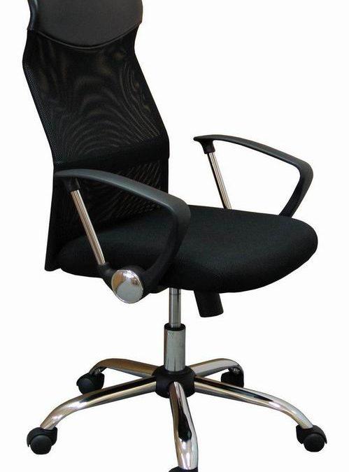 Idea Kancelářské křeslo Prezidento1, černá barva – DOPRODEJ