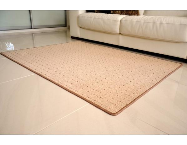 Kusový koberec Udinese béžový