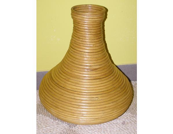 Ratanová váza V2-světlá