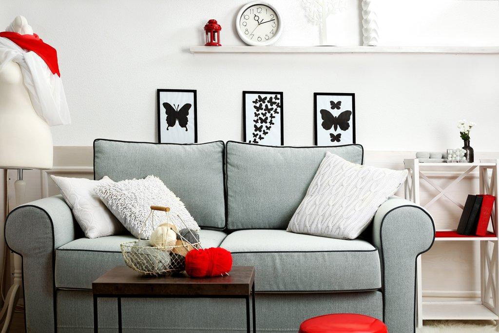 Kontrastní dekorace