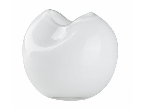 Váza Glass bílá 13