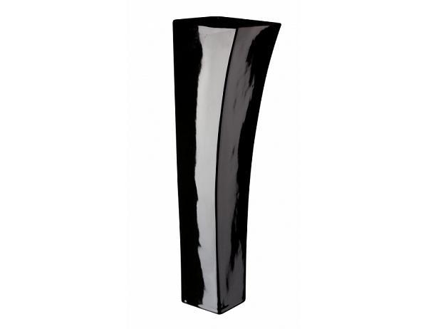 Váza Quadro V černá 12×40