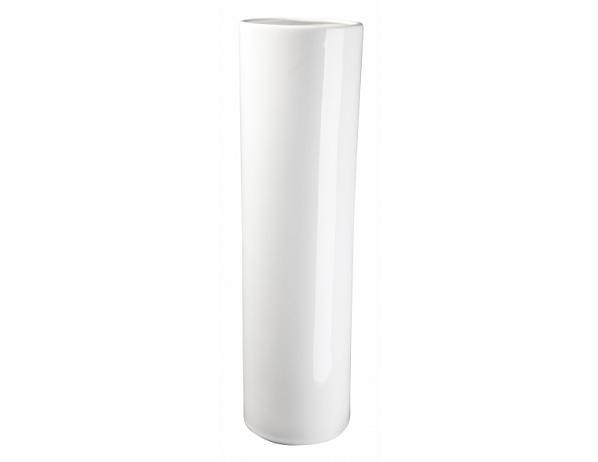 Váza Slot bílá 35