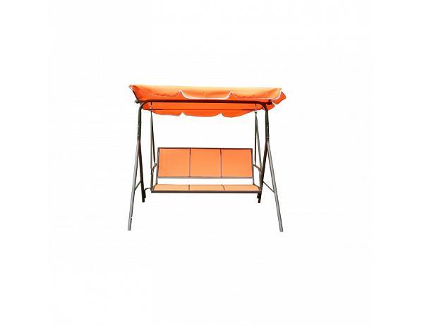 Zahradní houpačka Comfort oranžová