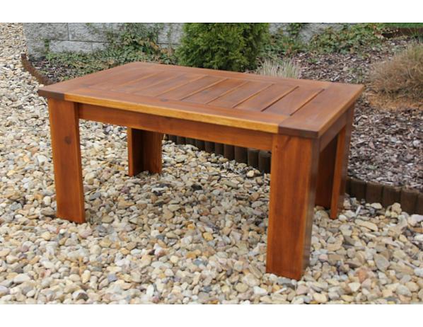 Zahradní stůl Mevan – kávový