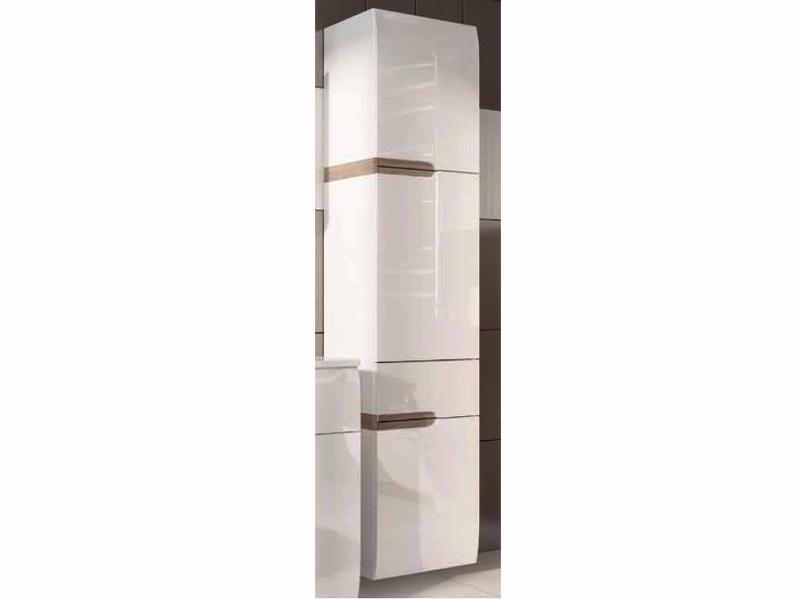 Extom LINATE/155P, závěsný sloupek, alpská bílá/trufla