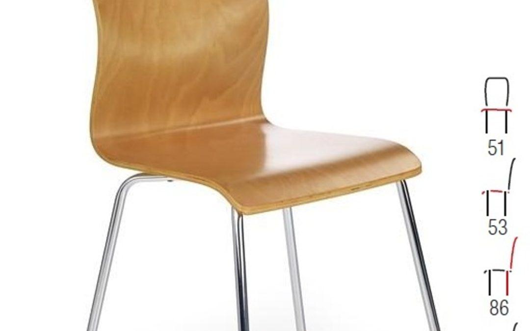 Halmar Židle K81, olše