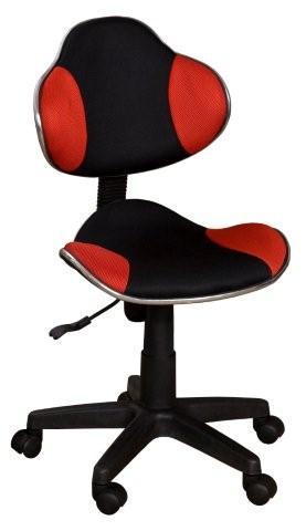 Idea Kancelářská židle NOVA, červeno/černá barva