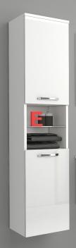 Vysoká závěsná koupelnová skříňka Lorieta bbl 1