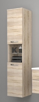 Vysoká závěsná koupelnová skříňka Lorieta ds 1